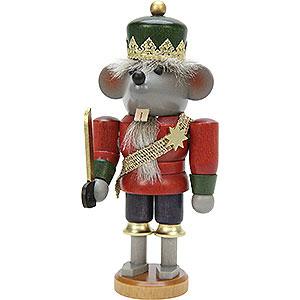 Nutcrackers Famous Persons Nutcracker - Mouse King Glazed - 17 cm / 7 inch