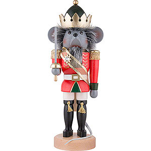 Nutcrackers Famous Persons Nutcracker - Mouseking - 39,0 cm / 15 inch