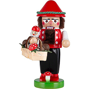 Nutcrackers Hobbies Nutcracker - Mushroompicker - 30 cm / 11,5 inch