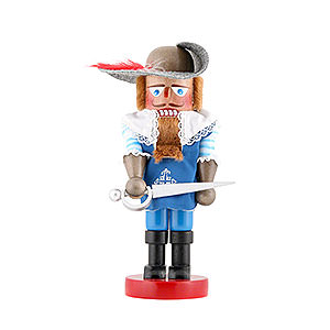 Nutcrackers Famous Persons Nutcracker - Musketeer Aramis - Limited Edition - 29 cm / 11,4 inch