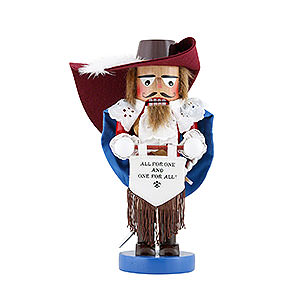 Nutcrackers Famous Persons Nutcracker - Musketeer Athos - Limited Edition - 29 cm / 11,4 inch