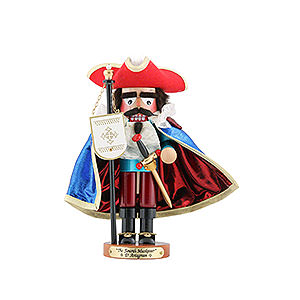 Nutcrackers Famous Persons Nutcracker - Musketeer D'Artagnan - Limited Edition - 29 cm / 11,4 inch