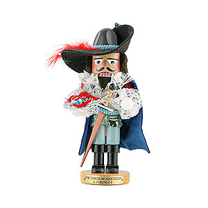 Nutcrackers Famous Persons Nutcracker - Musketeer Porthos - Limited Edition - 31 cm / 12,2 inch