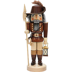 Nutcrackers Professions Nutcracker - Night Watch Man, Natural - 36 cm / 14.2 inch