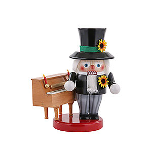 Nutcrackers Professions Nutcracker - Piano Player - 25 cm / 10 inch