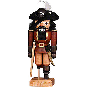 Nutcrackers Misc. Nutcrackers Nutcracker - Pirat Natural - 25,5 cm / 10 inch