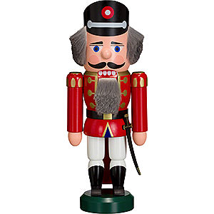 Nutcrackers Professions Nutcracker - Policeman Red - 27 cm / 11 inch