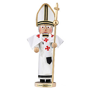Nutcrackers Famous Persons Nutcracker - Pope Francis - Limited Edition - 47,5 cm / 18,7 inch