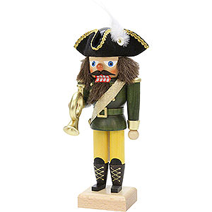 Nutcrackers Professions Nutcracker - Postillion Green - 26 cm / 10 inch
