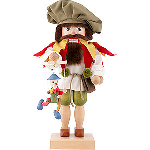 Nutcrackers Professions Nutcracker - Puppet Player - 44,5 cm / 17.5 inch