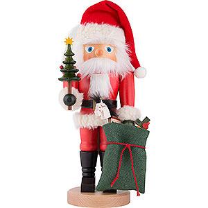 nutcracker santa claus with bag 41 cm by christian ulbricht. Black Bedroom Furniture Sets. Home Design Ideas