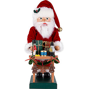 Nutcrackers Santa Claus Nutcracker - Santa Present Table - 47 cm / 18.5 inch