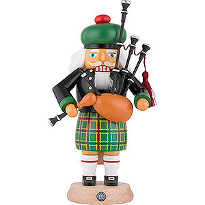 Nutcrackers Hobbies Nutcracker - Scotsman in Highland Costume with Bagpipe - 27 cm / 11 inch
