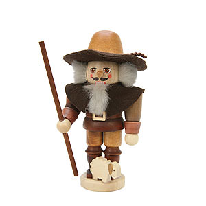Nutcrackers Professions Nutcracker - Shepherd Natural Colors - 15,0 cm / 6 inch