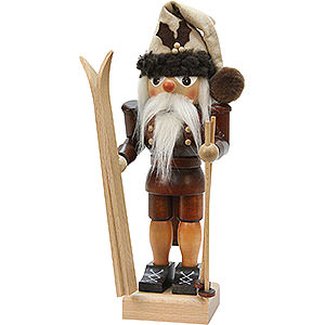 Nutcrackers Hobbies Nutcracker - Skier - Natural Colors - 25,5 cm / 10 inch
