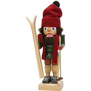 Nutcrackers Hobbies Nutcracker - Skiier - 28,5 cm / 11.2 inch