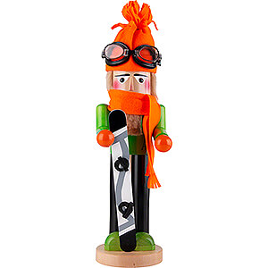 Nutcrackers Hobbies Nutcracker - Snowboarder - 43 cm / 16.9 inch