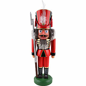 Nutcrackers Soldiers Nutcracker - Soldier, Red - 38 cm / 15 inch