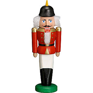 Nutcrackers Soldiers Nutcracker - Soldier Red - 9 cm / 3.5 inch