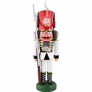 Nutcrackers Soldiers Nutcracker - Soldier, White - 38 cm / 15 inch