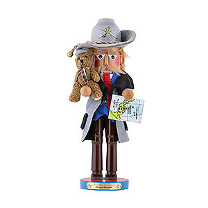 Nutcrackers Famous Persons Nutcracker - Theodore Roosevelt - Limited Edition - 42,5 cm / 16,5 inch