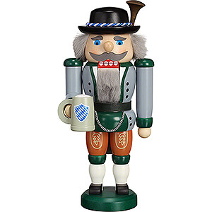 Nutcrackers Misc. Nutcrackers Nutcracker - Traditional Costume Bavarian - 24 cm / 9.4 inch