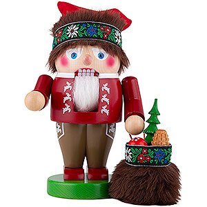 Nutcrackers Santa Claus Nutcracker - Troll Bavarian Santa - 27 cm / 10.6 inch