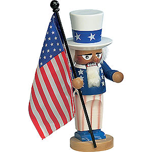 Nutcrackers Famous Persons Nutcracker - Uncle Sam - 30 cm / 11,5 inch