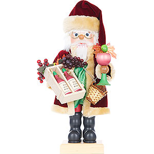 Nutcrackers Santa Claus Nutcracker - Wine Santa - Limited Edition - 46 cm / 18 inch