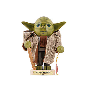 Nutcrackers Famous Persons Nutcracker - Yoda - Limited Edition - 24,5 cm / 9,4 inch