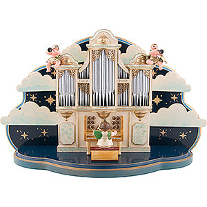 Angels Orchestra (Hubrig) Organ for Hubrig Angel Orchestra without Music Box - 36x13x21 cm / 14x5x8 inch