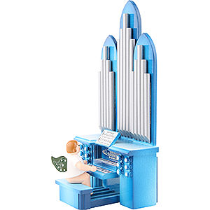 Angels Orchestra (Ellmann) Organ with Angel and Musical Mechanism - 6,5 cm / 2 inch