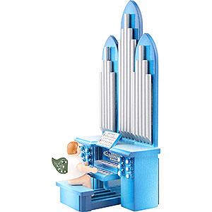 Weihnachtsengel Orchester (Ellmann) Orgel mit Engel - 6,5 cm