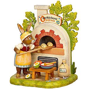 Kleine Figuren & Miniaturen Tiere Hasen Osterbäckerei - 13 cm