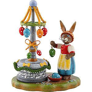 Kleine Figuren & Miniaturen Hubrig Hasenland Osterbrunnen - 10 cm