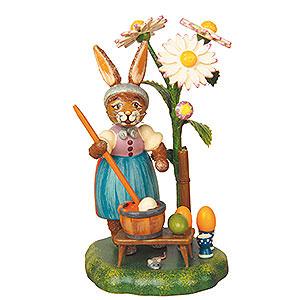 Kleine Figuren & Miniaturen Tiere Hasen Ostereierfärberei - 10 cm