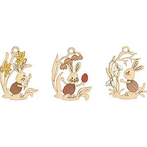 Baumschmuck Sonstiger Baumschmuck Osterschmuck Stupsi mit Blumen 6-er Set - 6,5 cm