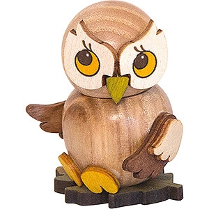 Small Figures & Ornaments Kuhnert Mini Owls Owl Child natural - 4 cm / 1.6 inch
