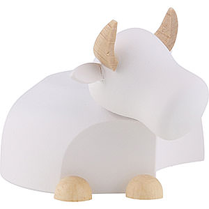 Nativity Figurines All Nativity Figurines Ox White/Natural - Large - 6,0 cm / 2.4 inch