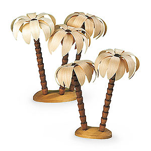 Small Figures & Ornaments Nativity Scenes Palm Tree Groups - 17 cm / 7 inch