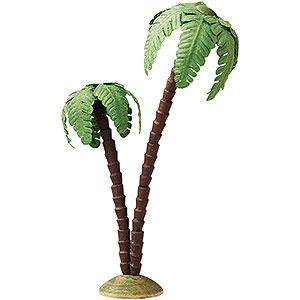 Weihnachtsengel Günter Reichel Dekoration Palme doppelt - 16 cm