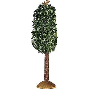 Weihnachtsengel Günter Reichel Dekoration Pappel klein mit Vogel, 3 Stück - 9,5 cm