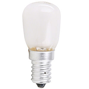 World of Light Spare bulbs Pear Lamp Frosted - E14 Socket - 230V/15W