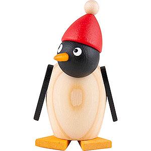 Kleine Figuren & Miniaturen Martin Tierfiguren Pinguinbaby mit Mütze - 3,5 cm