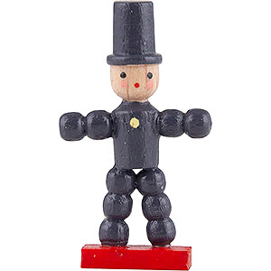 Small Figures & Ornaments Flade Flax Haired Children Plum Man - 2,6 cm / 2.4 inch