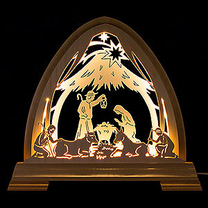 Candle Arches All Candle Arches Pointed Arch - Stable - 40x37 cm / 15.7x14.6 inch