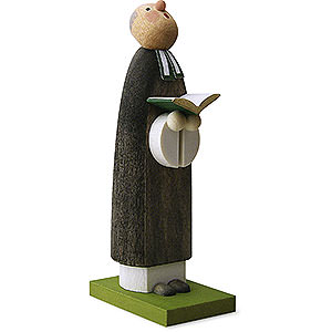 Small Figures & Ornaments Günter Reichel Born Country Priest - 7 cm / 2.8 inch