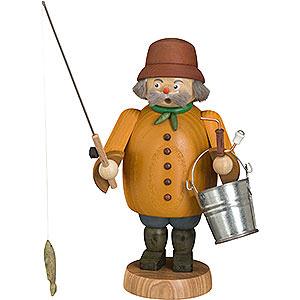 Räuchermänner Hobbies Räuchermännchen Angler - 22 cm