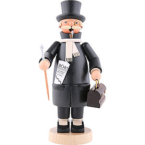 Räuchermänner Berufe Räuchermännchen Banker - 20cm