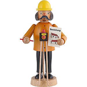 Räuchermänner Berufe Räuchermännchen Bauleiter - 17 cm